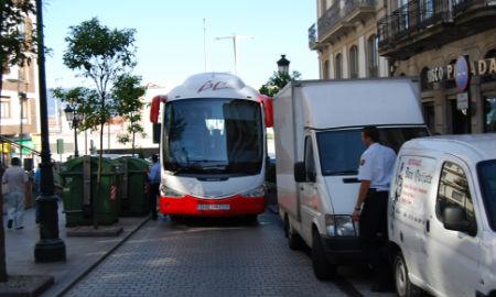 Autobus atascado