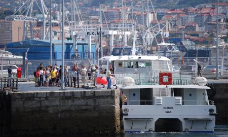 Barco a Cangas/S. Pereira