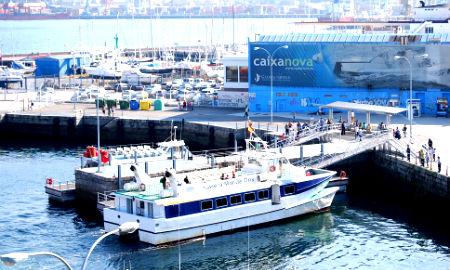 barco moaña