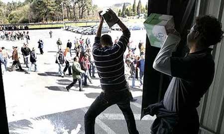 Protesta en Campolongo