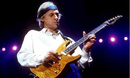El guitarrista Mark Knopfler.