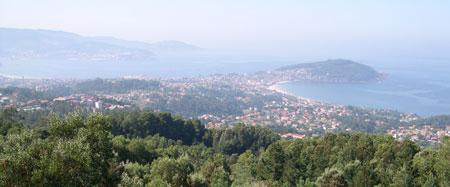 Vistas desde o Monte da Bandeira
