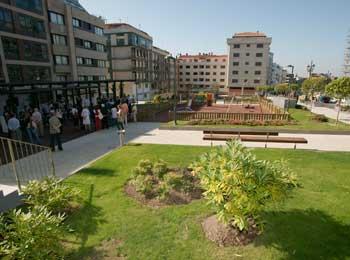 La nueva plaza mide más de 7.000 metros