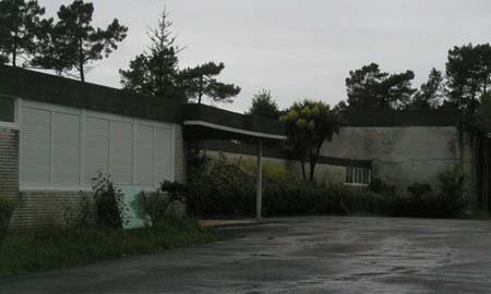 El colegio vigués Saladino Cortizo.