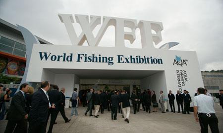 Entrada a la World Fishing Exhibition