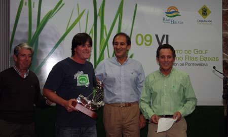 El ganador del certamen, Alejandro Cabrera Rodríguez.