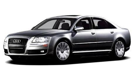 Entre los subastados hay Audi A8