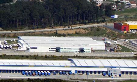 La fábrica de Faurecia en Vigo.