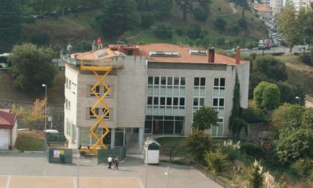 El edificio de la Gerencia de Urbanismo.