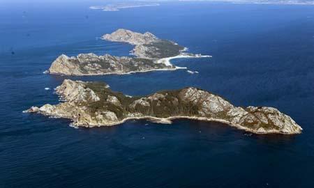 Las Islas Cíes consiguen un notable alto.