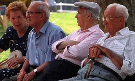 La media de las pensiones de jubilación, 700 euros.