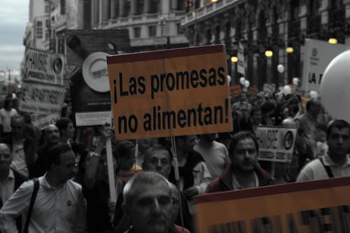 La manifestación sale a las 12.00 de la Plaza de Independencia
