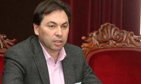 El alcalde de Ponteareas, Salvador González Solla.
