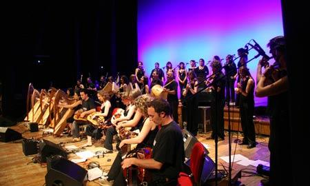 A orquesta 'Sonde seu'