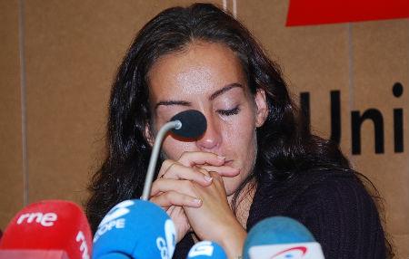 Silvia Albés, mujer de uno de los tripulantes secuestrados