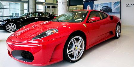 Por supuesto, no todos los coches que se venden son como este impresionante Ferrari, pero hay más ventas