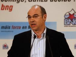 Francisco Jorquera, portavoz del BNG en el Congreso de los Diputados