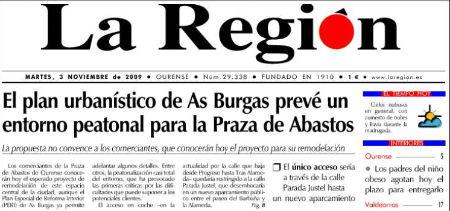 Cabecera de La Región /S.Pereira
