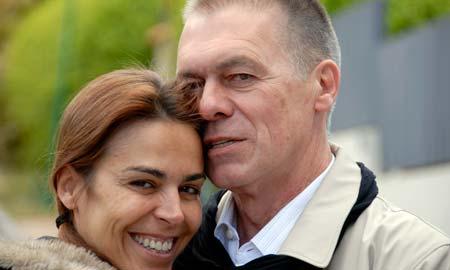 Blanca Oteyza y Miguel Ángel Solá, protagonistas de la obra.