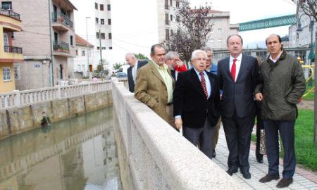 Visita de Antón Louro a Redondela