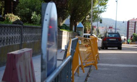 Unha das rúas que se están a humanizar