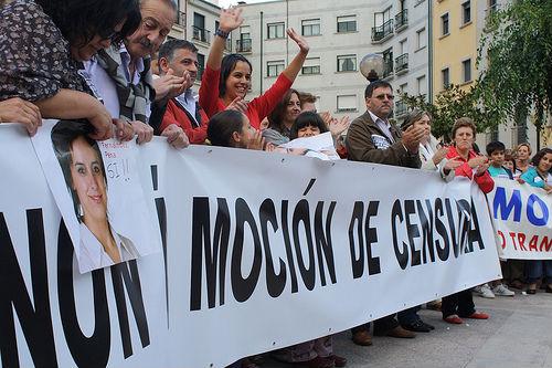 1 de Febrero: moción de censura en Porriño