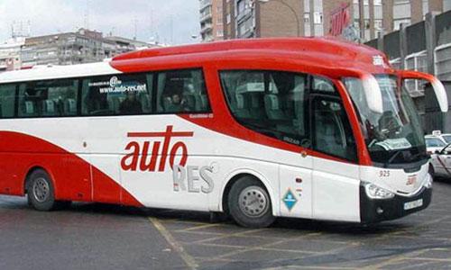 Unos mil usuarios de la línea Vigo-Madrid, afectados por la huelga de Auto Res