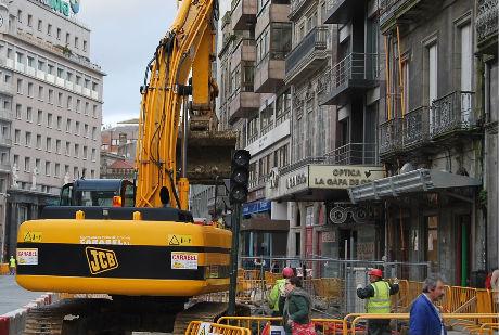 Vías e Obras asegura que realizou 316 actuacións nas rúas de Vigo en tres anos