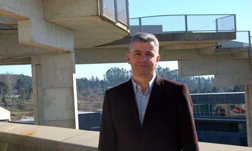 O comisionado do Campus do Mar, Emilio Fernández.