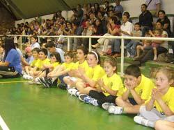 Fin de festa para máis de 200 dos xogadores de baloncesto máis mozos de Vigo
