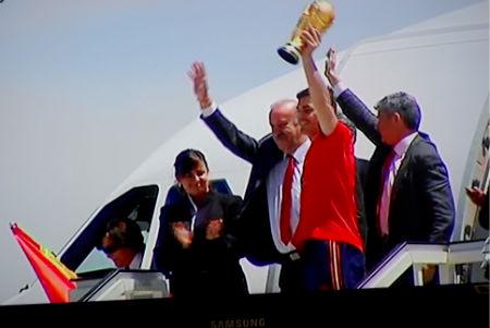 ¡La Copa del Mundial ya está en casa!