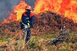 Controlado el incendio que ha quemado 130 hectáreas en Viana do Bolo