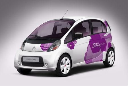 Citroën presenta el sábado el sábado en Vigo sus nuevos coches eléctricos, el C-Zero y el iON