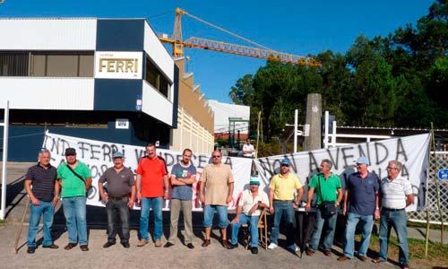 Se mantienen los puestos de trabajo en Industrias Ferri