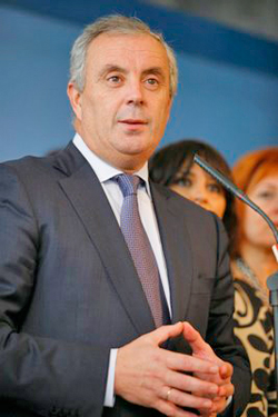 El líder de los socialistas gallegos Pachi Vázquez.