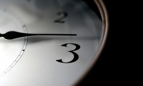 Ojo o llegarás una hora antes de tiempo