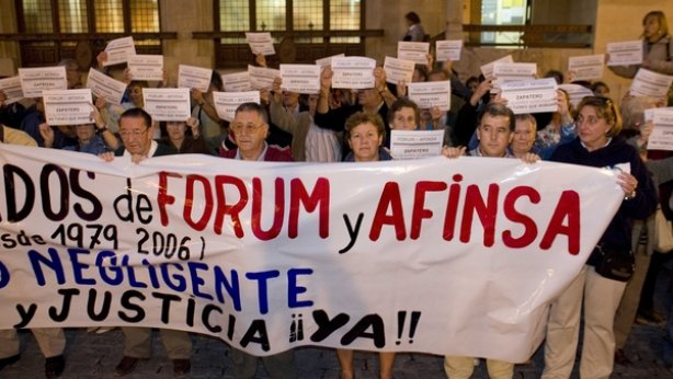 El Estado no les pagará y los afectados de Forum y Afinsa sólo cobrarán 1.400 de los 4.600 que les estafaron