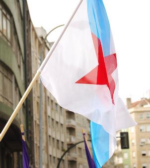 La CUT exige la puesta en libertad de un joven acusado de atacar las sedes del INEM de O Porriño y Vigo