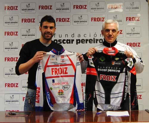 Óscar Pereiro, a la cabeza del nuevo equipo de ciclismo gallego