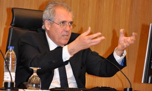 O presidente do CFV, Marcelino Otero.