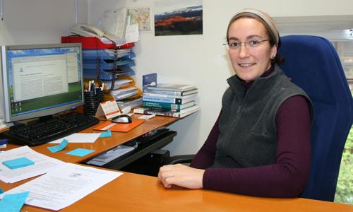 A mellor investigadora da Unión de Xeociencias Europea, 'made in' Galicia