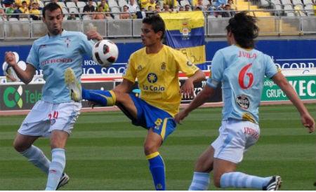 El Celta, con un gol menos en Canarias (1-1)