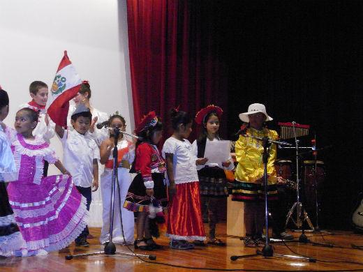 Homenajeando a Perú desde Vigo