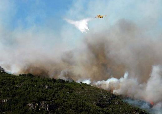 Controlado el incendio forestal que acabó con 78 hectáreas en Silleda