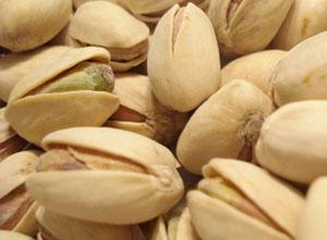 Para la Operación Bikini, hínchate a pistachos