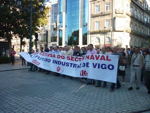La Xunta actuará por su cuenta si el Gobierno no mueve ficha por el sector naval