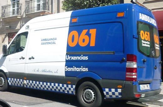 7 heridos en diferentes accidentes registrados en Galicia