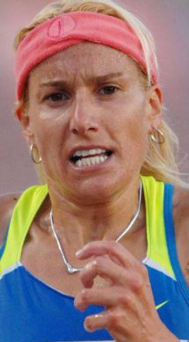 Marta Domínguez vuelve a correr por todo lo alto