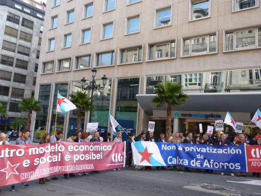 200 delegados de CIG piden en Vigo que se investiguen las cajas