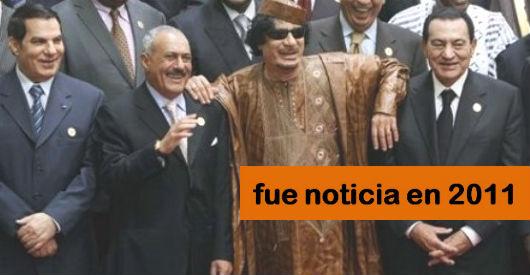 2011: la revolución árabe